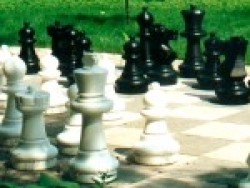 garden chess pieces MOORBECK