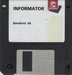Schachinformator Band 68 3,5'-Diskette