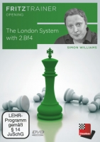 Williams, The London System with 2.Bf4 (DVD-ROM)